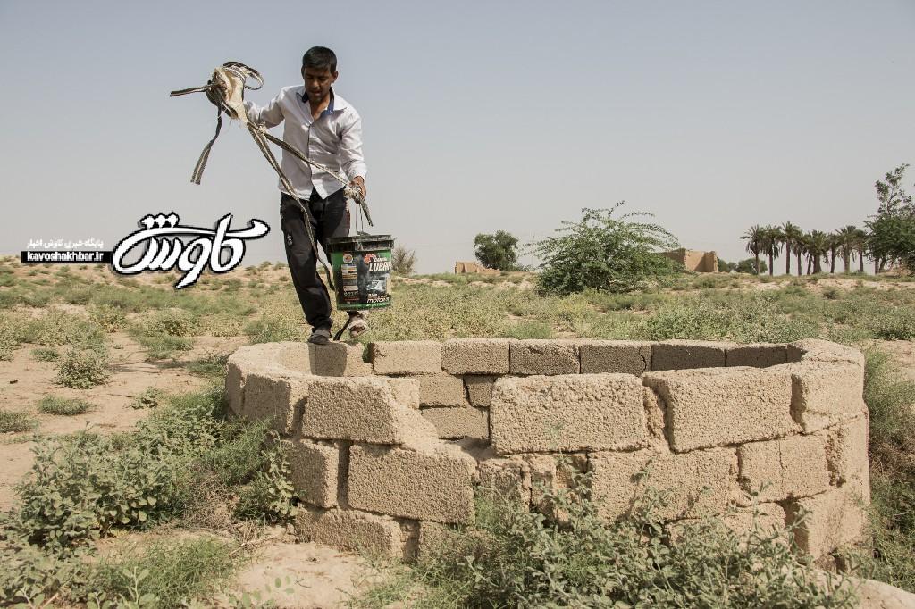 بسیج امکانات برای حل مشکل آب سایر روستاهای بخش غیزانیه اهواز