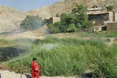 توضیح شرکت بهره برداری نفت و گاز مسجدسلیمان در خصوص آتش سوزی کنار چاه شماره یک