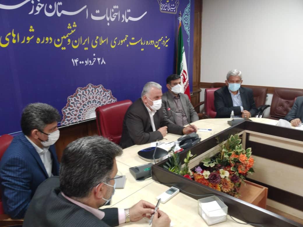 ۹۰ درصد داوطلبان انتخابات شوراهای شهر در خوزستان تایید صلاحیت شدند